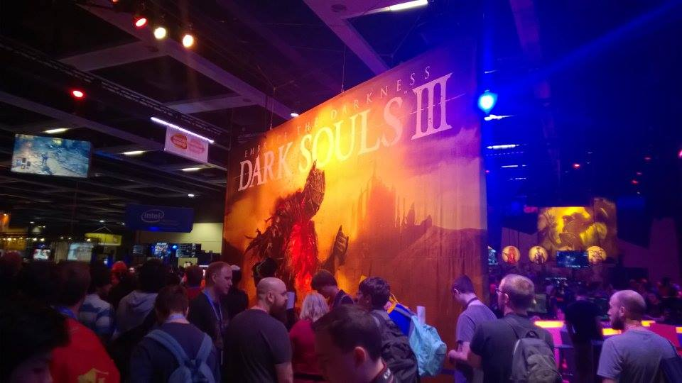 Dark Souls 3 on Show Floor