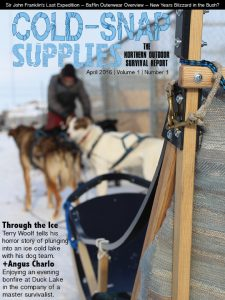 Cold-snap Supplies Magazine Cover